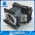 100% original lâmpada do projetor para panasonic pt-vw530 et-lav400 pt-vw535 pt-vw535n pt-vx600 pt-vx605 pt-vx605n pt-vz570 pt-vz575nu