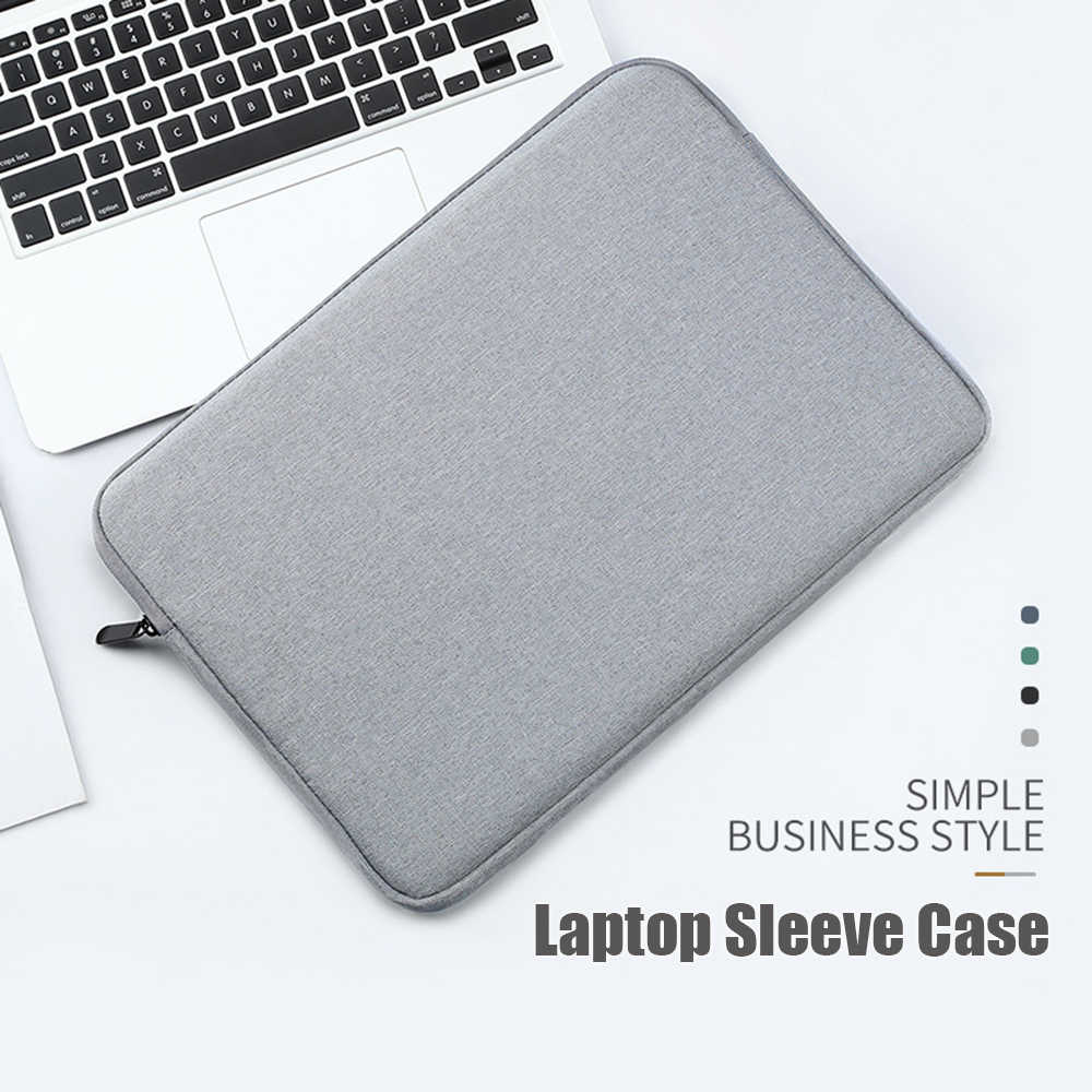 1 قطعة دفتر الحقيبة ل ماك بوك اير برو لينوفو HP ديل Asus سعة كبيرة حقيبة لابتوب كم حافظة صالح 13.3 15.6 بوصة