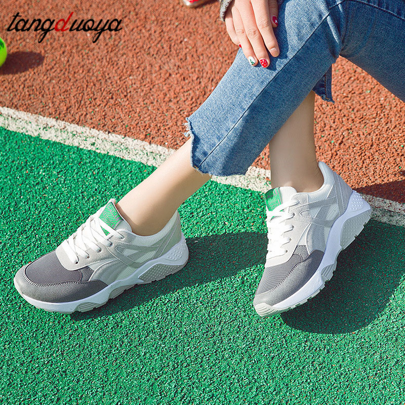 Athletic Sneakers Women Running Shoes For Women Breathable Casual Shoes Women Summer Sport Shoes Woman Light Weight