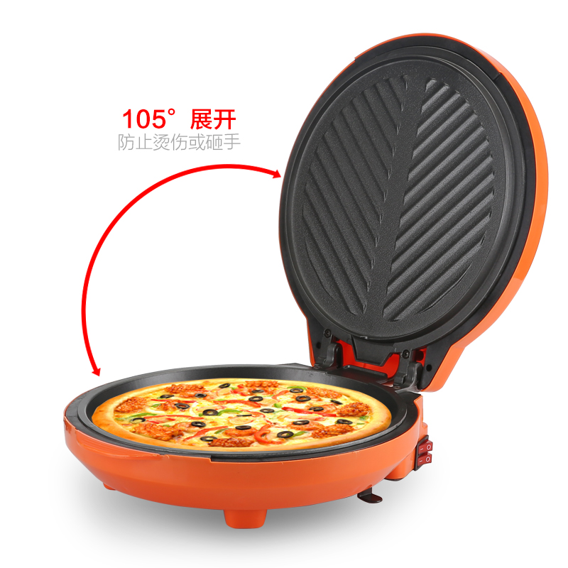 Electric pancake maker Multifunction machine cake pizza and grill DIY breakfast cake machine electric pizza maker free shipping unbrand diy sushi maker