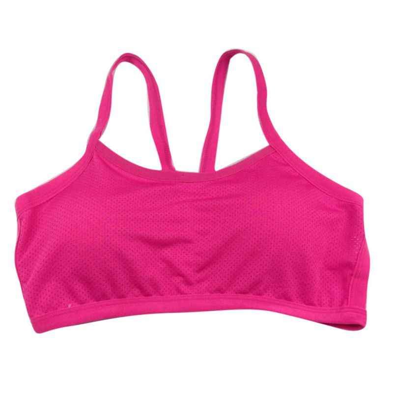 حمالة صدر رياضية مع رفع الجري اليوغا رياضة اللياقة البدنية الفتيات حزام خزان أعلى