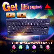Новый Мини-Пк Quad Core Mini PC Windows 10 Компьютер Клавиатура мышь 1.33 ГГц Intel atom Z8300 HDMI TV Box WiFi/RJ45 Micro PC