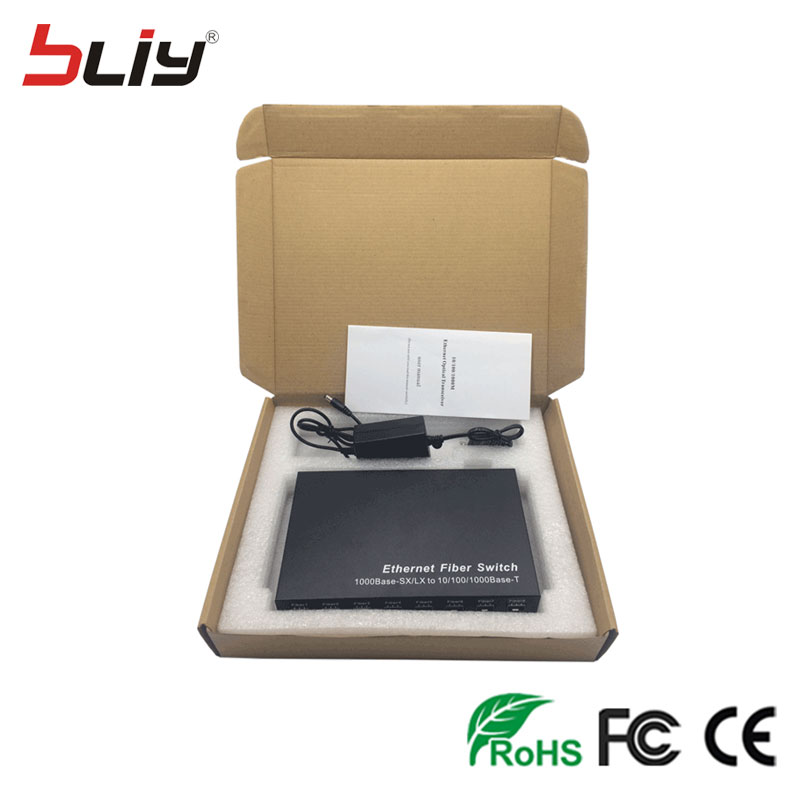 Image 5 - SFP 8G2E 1000M gigabit 8 sfp fiber 2 RJ45 UTP fiber interruptor fiber optic media converter ethernet fiber switcher for GBIC SFP-in Network Switches from Computer & Office