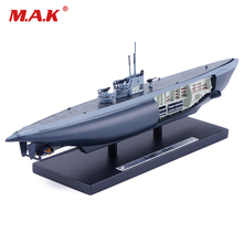 Kids toys 1/350 Scale ATLAS U487-1943 World War II Submarine Ship Model Collectible Toy Gift