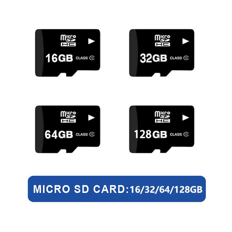 16GB 32GB 64GB 128 GB Micro SD Card TF Card For Wifi Cameras For Local Video Storage