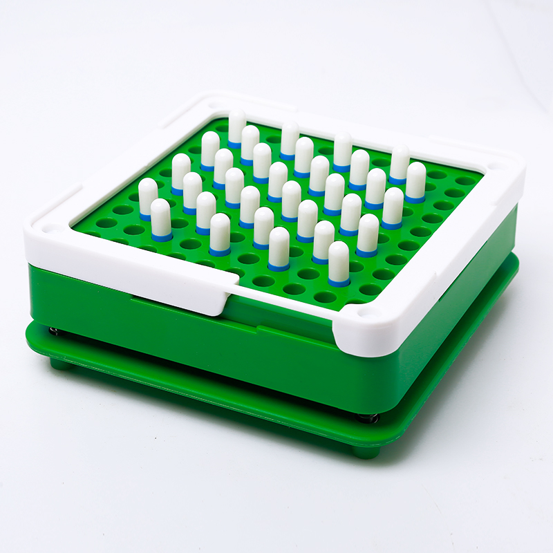 100 Hole #00 #0 ABS Green Capsule Filling Plate Filling Machine Manual Capsule Medicine Capsule Production DIY Herb