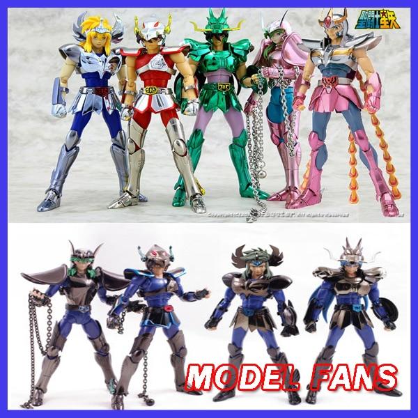 MODEL FANS CS speeding/king model Saint Seiya Andromeda/dragon/Pegasus Anime and black TV Version1 Helmet Cloth Myth Metal armor комикс saint george and the dragon
