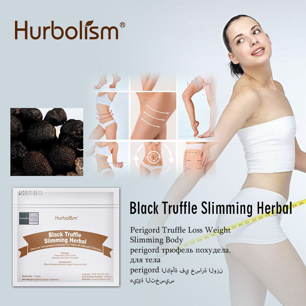 Hurbolism New formula Black Truffle Slimming Herbal for Weight Loss Diet Supplement Burn Fat 50g/lot