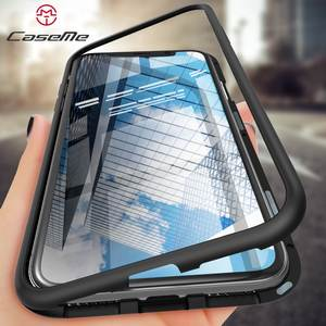 CaseMe 360 Magnetic Adsorption Case for iPhone X 8 Plus 7 6 6 S