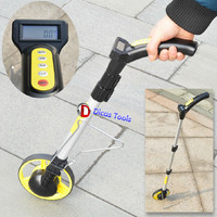 Digital Display Mechanical Wheel Rangefinder Push Wear Resistant Ranging Wheel Measuring Tool