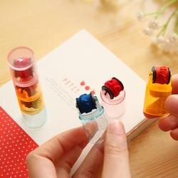 3 шт./компл. комбинированная ручка Форма штампы комплект DIY штамп Скрапбукинг Развивающие игрушки для детей канцелярские чернильные печати