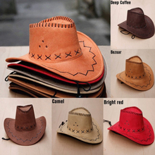 New High quality Autumn Summer Spring Sun Hat Cowboy Hat Men and Women Out door Caps Fashion Chapeu Straw Cowboy 12 Colors Hats