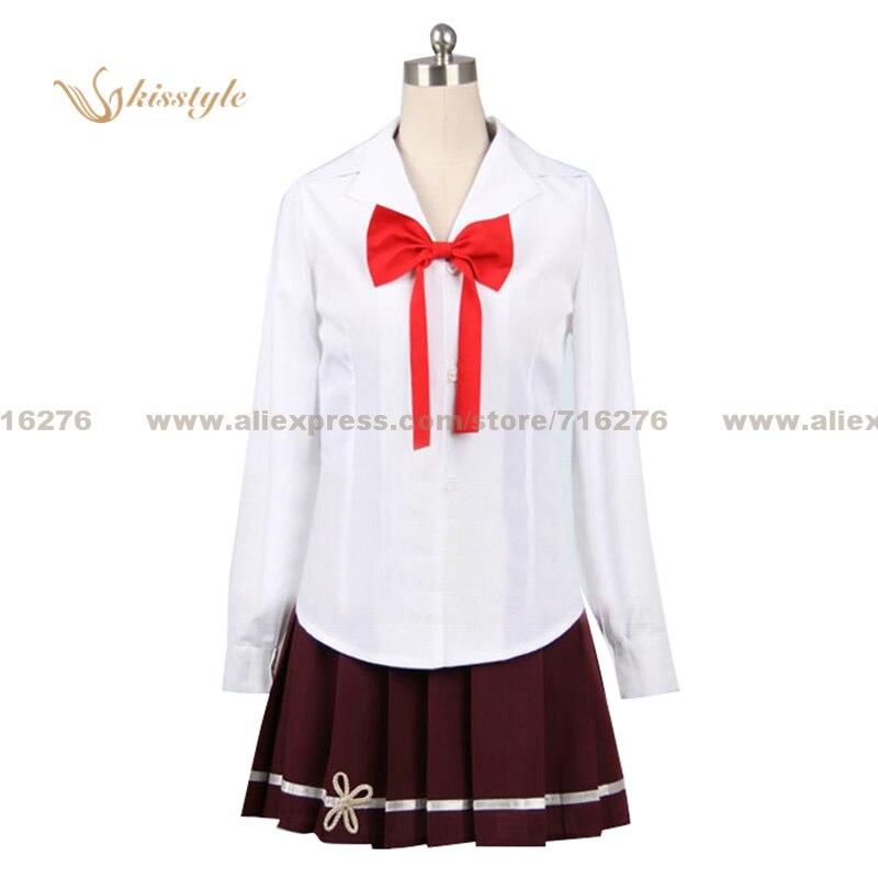 Kisstyle Fashion Denpa Onna to Seishun Otoko Erio Towa Uniform COS Clothing Cosplay Costume,Customized Accepted