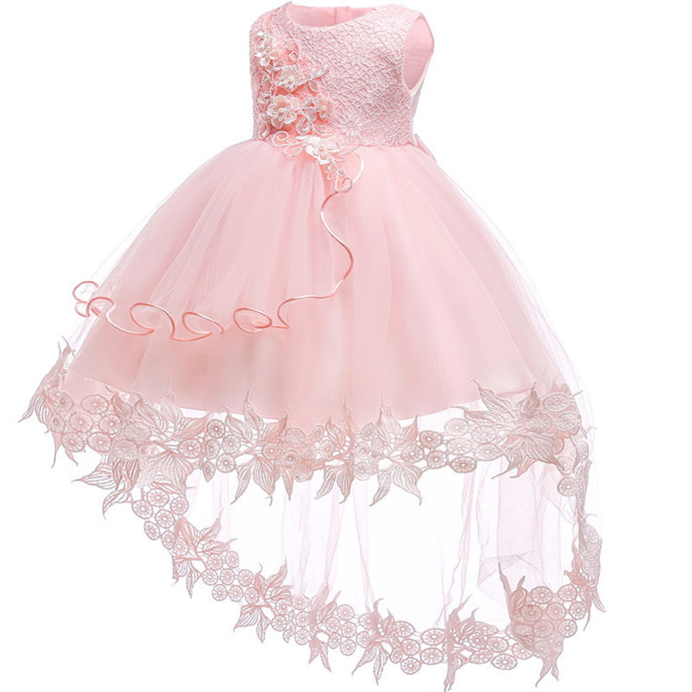 Flower Girl Dress For Wedding Baby Girl 0-2 Years Birthday Outfits Childrens Girls First Communion Dresses Kids Party baptism