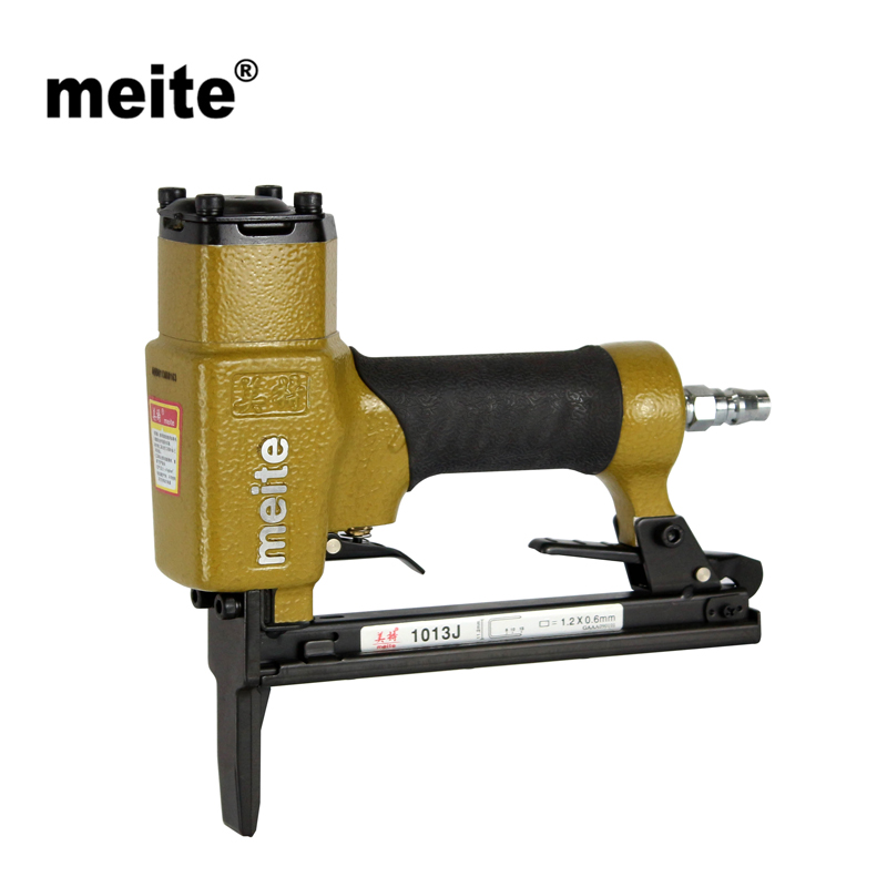 Meite 1013JL 20GA crown 11.2mm fine wire stapler by leg length 6-13mm staple air gun stapler for furniture Sep.3rd Update tool free shipping ric aficio 1013 1515 feeler b04 44183