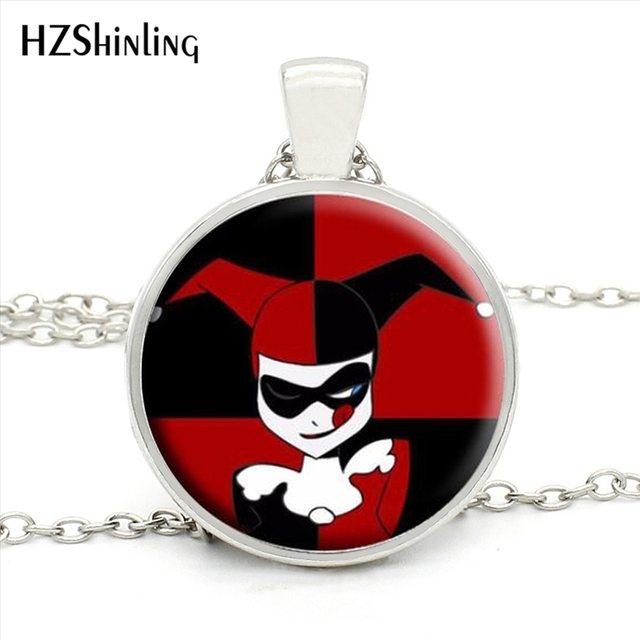 Hz1 mini 0020 wholesale glass dome necklaces harley quinn commando hz1 mini 0020 wholesale glass dome necklaces harley quinn commando suicidal joker necklace glass mozeypictures Image collections