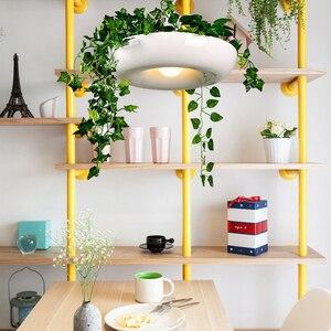 Image 4 - המדינה עציץ מנורת חדר אוכל בר דלפק קפה אור אמנות דקו איטלקי מעצב מנורת צמחי פרח עציץ נורדי תליון