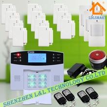 99 Беспроводных Зон GSM Сигнализация Дома Беспроводной Охранной Сигнализации 850/900/1800/1900 МГц Комплект 11 двери/Окна Датчика