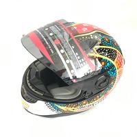 Newest Arrival Motorcycle Helmet ABS Material Motocross Racing Helmet For Male And Female
