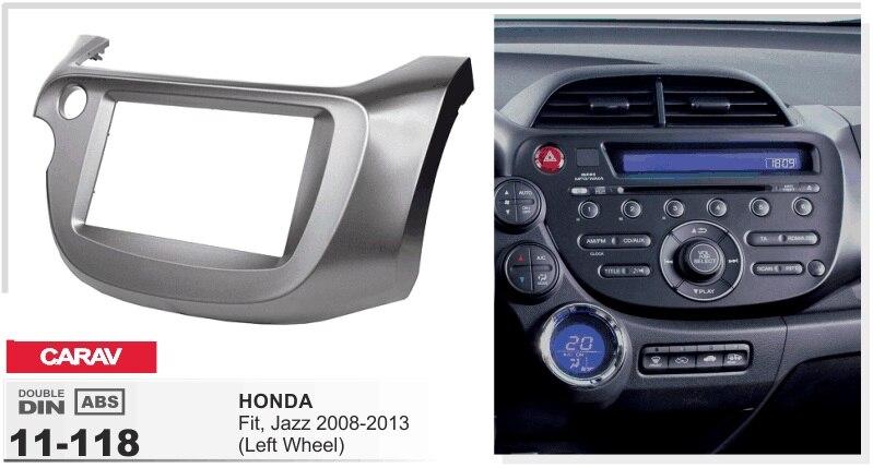 frame+Car DVD radio Android 5.1.1 Autoradio GPS Player Headunit for honda jazz 2008-2013 left wheel 3g STEREO tape recorder