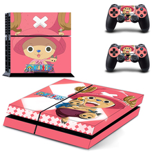 Anime One Piece Body Skin Sticker Decal for Playstation 4 PS4 Console+Controller skins