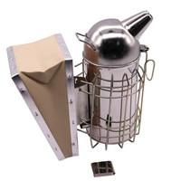 Beekeeping Tools Trumpet Stainless Steel Smoked Hood Premium Beekeeping Tools Wholesale Bee Breeding Equipment