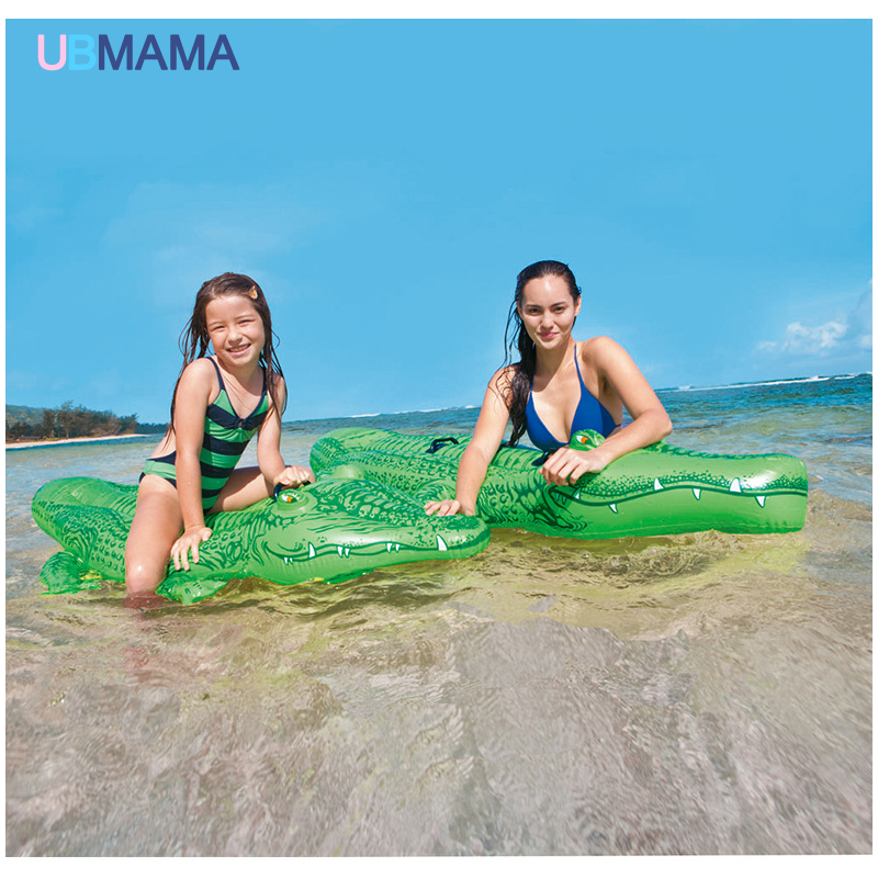 Crocodile PVC Floating Row Children Water Floating Seat Summer Swimming  Water Kid Giant Inflatable Pool Toys In Underwear From Mother U0026 Kids On ...