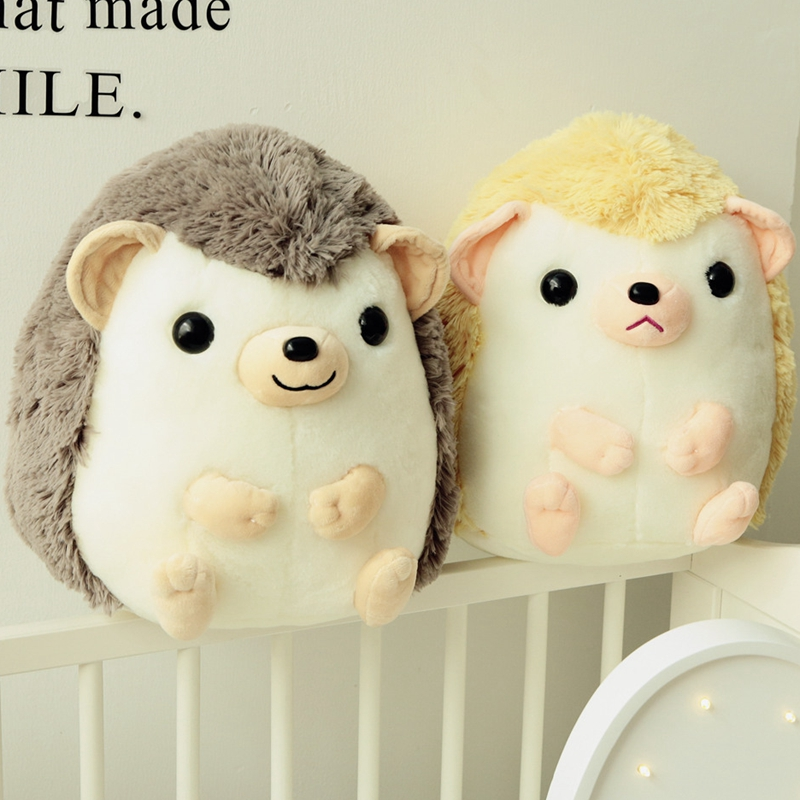 2017 New 35/45cm Cute Cartoon Plush Hedgehog Dolls Soft Cotton Stuffed Lovely Hedgehog Plush Toys Birthday Gifts for Kids cartoon movie teddy bear ted plush toys soft stuffed animal dolls classic toy 45cm 18 kids gift