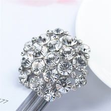 New Wholesale Price The Alloy Crystal Brooch for Women Rhinestone Broches para as mulheres Dress Accessories