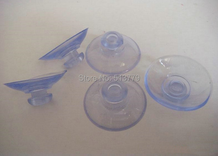 50pcs/Lot Transparent Plastic Suction Cups For Glass Suction Cup Glass Table  Strong Sucker Mushroom