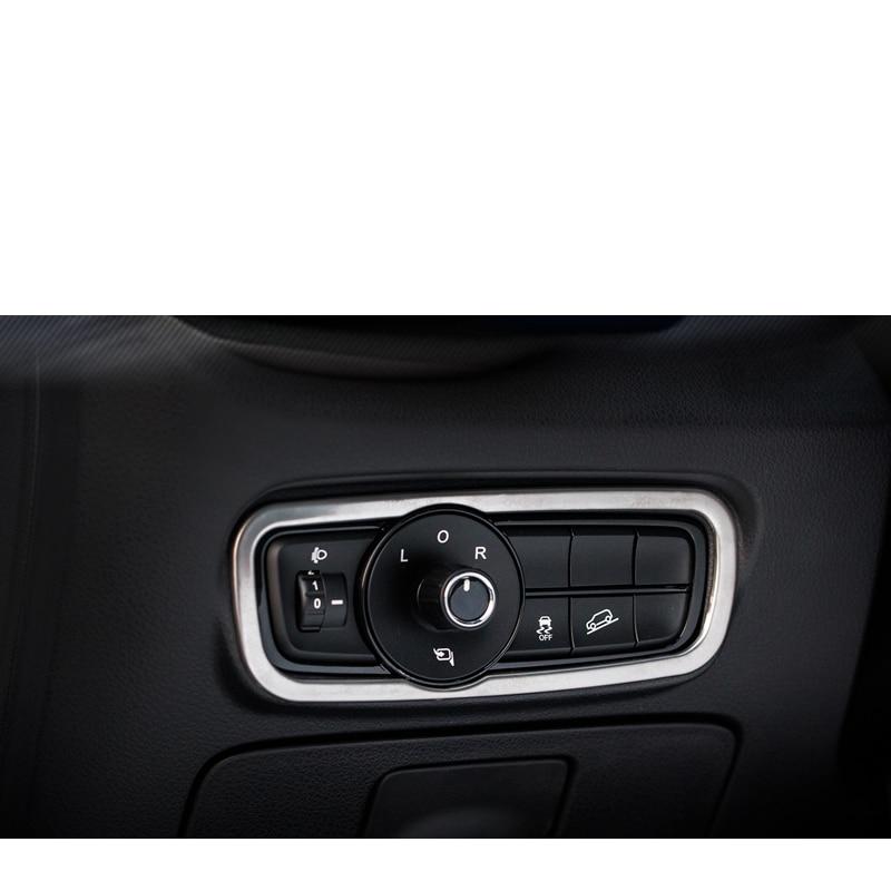 Lsrtw2017 Metal Car Headlight Switch Adjuster Frame for Trumpchi Gs3 2017 2018 2019 2020