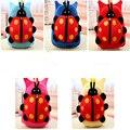 Nova Chegada 3D Bonito Ladybeetle Sacos de Escola Dos Desenhos Animados Mochila De Pelúcia Crianças Bebê Meninas Crianças Mochila jardim de Infância Saco H30