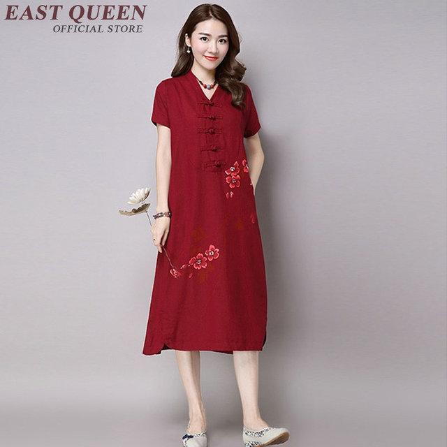 39717a259eaf Chinois-oriental-robes-femmes-oriental-style-robes-moderne-rouge-chinois- robe-dames-robe-traditionnelle-chinoise-AA1082.jpg 640x640.jpg