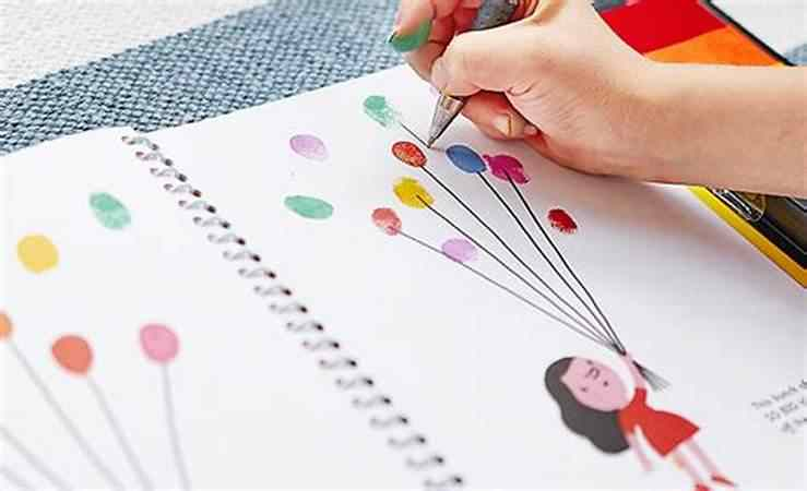 Detail Feedback Questions About Children Finger Drawing Book With