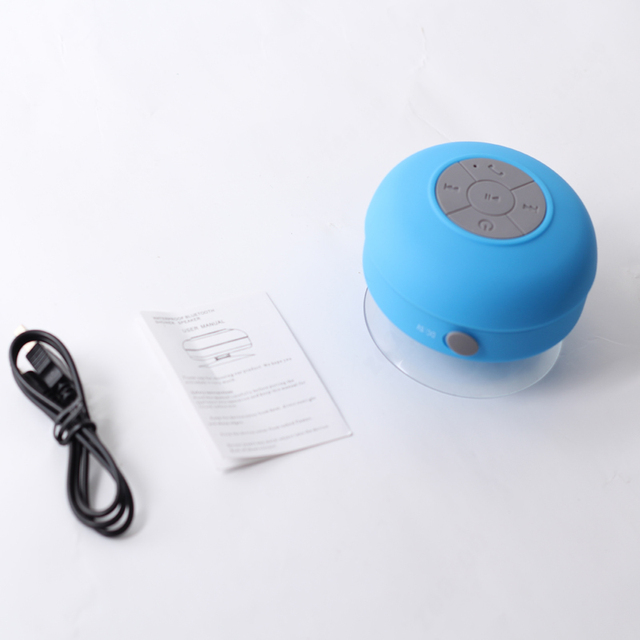 PORTABLE BLUETOOTH WATER RESISTANT SHOWER SPEAKER