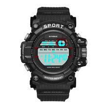 bedd3be53837 SYNOKE mujeres deportes relojes Multi-función de 30 M resistente al agua Reloj  Digital LED de doble acción Digital Reloj Deporti.