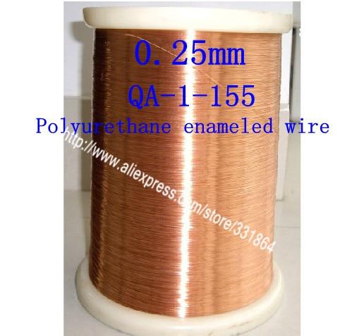0,25mm * 200m QA-1-155 Polyuretaani emaloitu Wire Copper Wire
