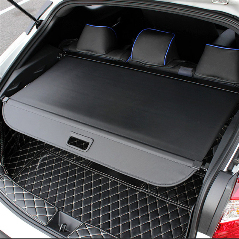 Car Trunk Cover Cargo For <font><b>Toyota</b></font> C-HR CHR <font><b>2016</b></font> 2017 2018 Rav4 Highlander <font><b>Prado</b></font> Crv Ford Hrv Auto Shelf Retractable outlander image
