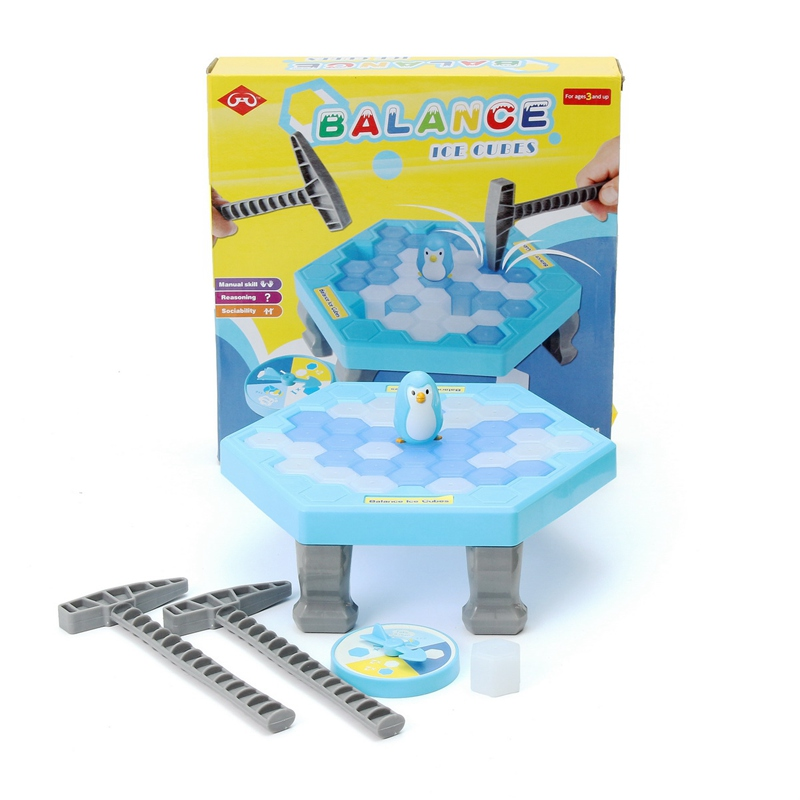 Save Penguin Ice Kids Puzzle Game Break Ice Block Hammer Trap Party Toy Pretend Icebreaker Funny Children Kids