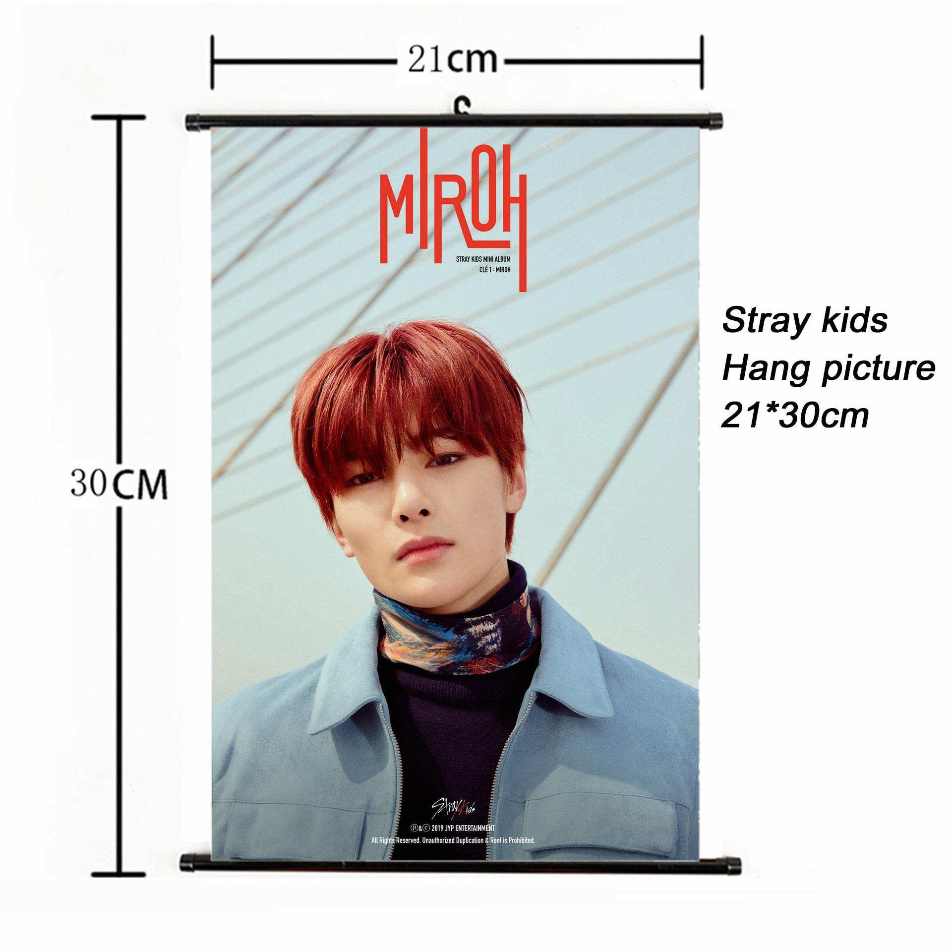 Handsome guy poster Stray Kids album I am YOU, I am WHO
