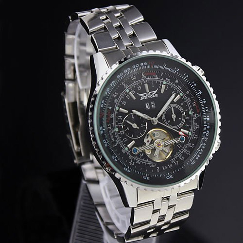 aliexpress buy jaragar big mens watches top