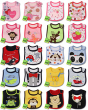 Baby Girl Boy Feeding Bibs Waterproof Apron Cartoon Towel Kids Toddler Dinner baberos Bandanas Burp Cloths Free Shipping