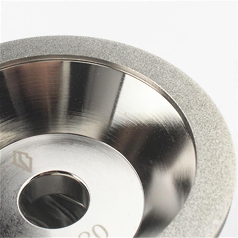Outils CBN de meule de diamant de 100mm, broyeur abrasif, affûtent - Outils abrasifs - Photo 2