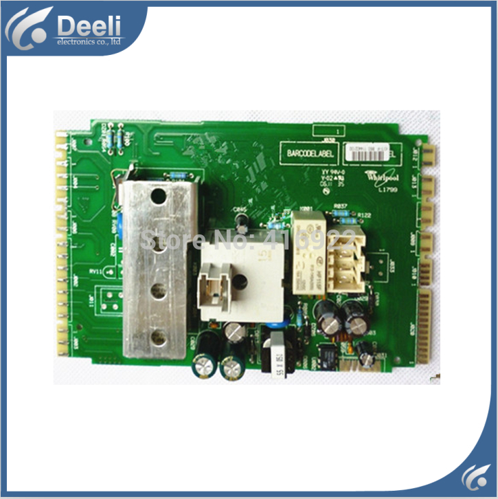 Free shipping 100% tested for washing machine motherboard board W10445350 169-A10175D-PC-HIS 5350 computer board on sale 100% tested for washing machine board wd n80051 6871en1015d 6870ec9099a 1 motherboard used board