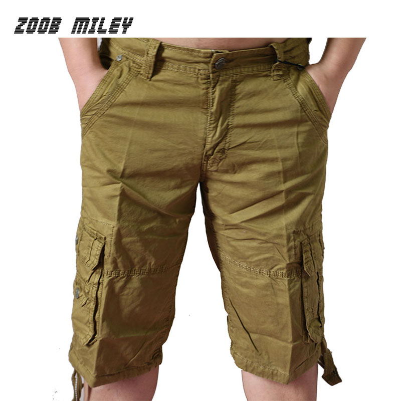 Durable cargo shorts are a great pick for yard work or a day outside, offering ample pocket space for whatever tools or accessories you may need to carry. Khaki shorts for men also offer comfort and versatility for more formal occasions.