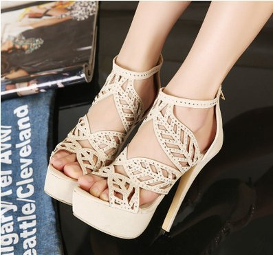 8e0c966b29e Free Shipping The 2014 Summer European Fashion The Most Beautiful Ladies  High Heeled Sandals (size35 40)LC1284-in Women s Sandals from Shoes on ...