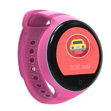 Children Smart Watch S668 IP54 Waterproof 1.22″ IPS Round screen Android  Zero-distance Positioning Kids Watch Wristwatch