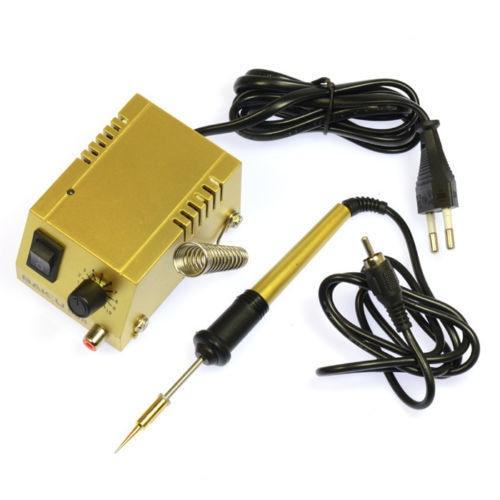 buy 220v 110v mini soldering station 18w solder iron bk 938. Black Bedroom Furniture Sets. Home Design Ideas
