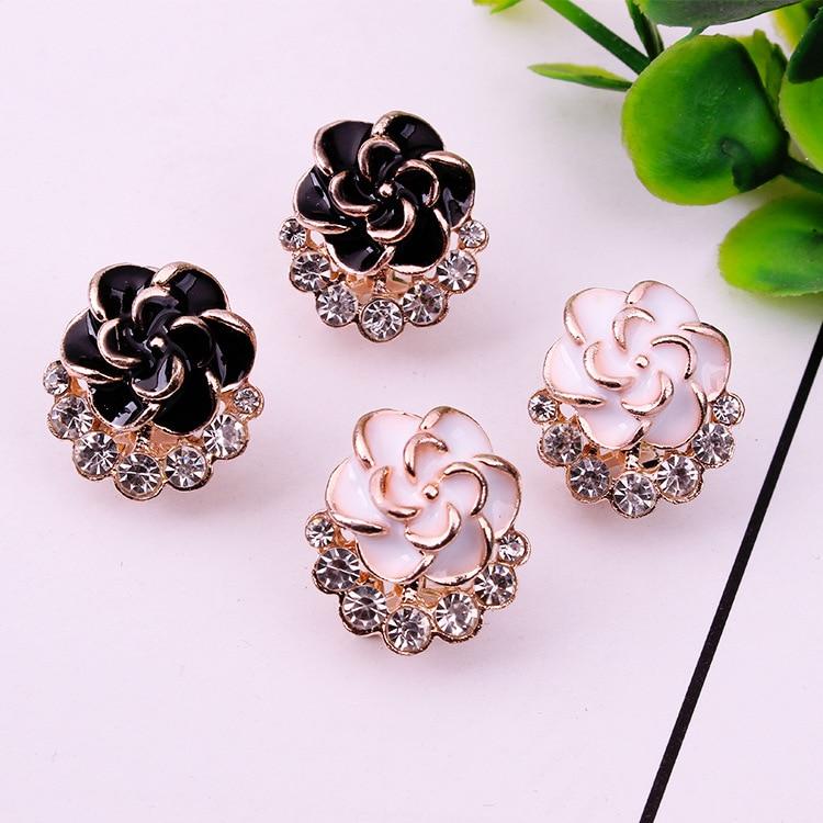 Серьги стержня для Для женщин женский 2018 букле D'oreille кристалл цветок серьги золотые Bijoux Ювелирные изделия Brincos Mujer