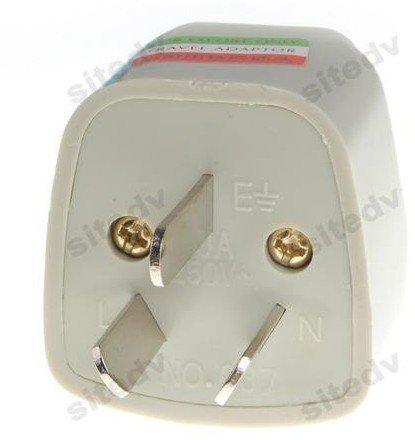 20pcs/lot!! Free Shippig+3 pins AU Adaptor Converter /Universal AC Power Plug Travel Adapter For Australia AU +wholesales